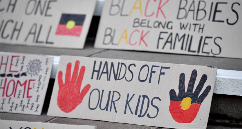 Govt lagging on Aboriginal child placement target