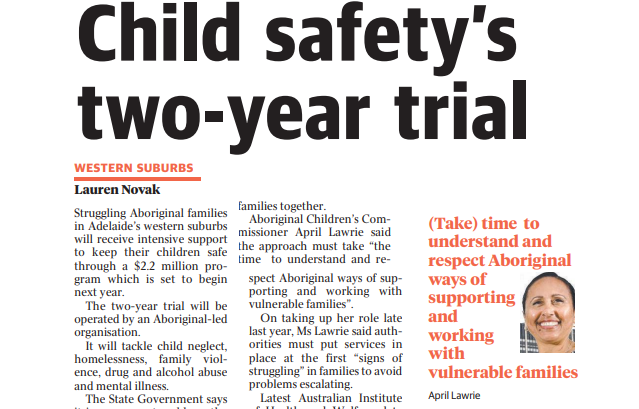 Child safety's two-year trial